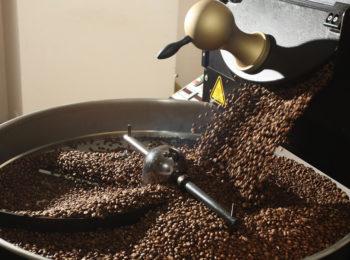 como é a produção do café